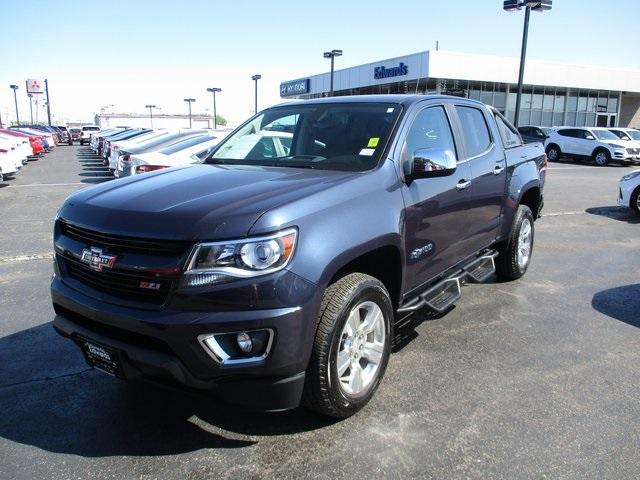Chevy Colorado 2018 >> Pre Owned 2018 Chevrolet Colorado Z71 4wd