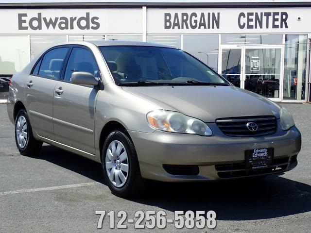 pre owned 2004 toyota corolla ce 4d sedan in council bluffs zh58012a edwards auto group pre owned 2004 toyota corolla ce fwd 4d sedan