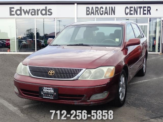 pre owned 2002 toyota avalon xls 4d sedan in council bluffs zh8815c edwards auto group pre owned 2002 toyota avalon xls 4d